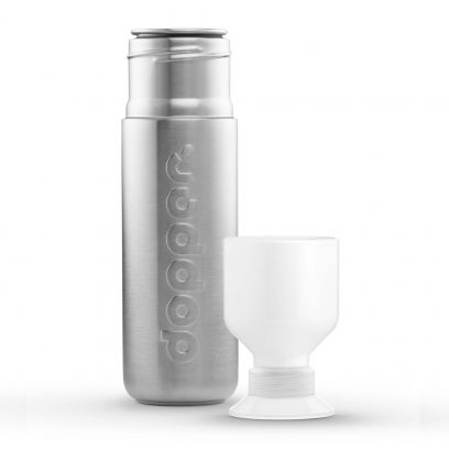 dopper solid steel bottle and cup